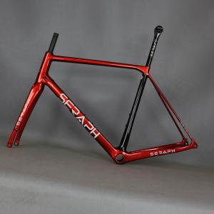 Frameset carbon fiber road bike frame FM009 , disc road carbon frame accept paint EPS technology frame super light frame